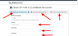 How to register on clickbank